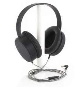 Completed 3D Printed Headphones